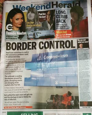 NZ border control